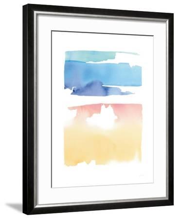Waterslide Merger-Mike Schick-Framed Art Print
