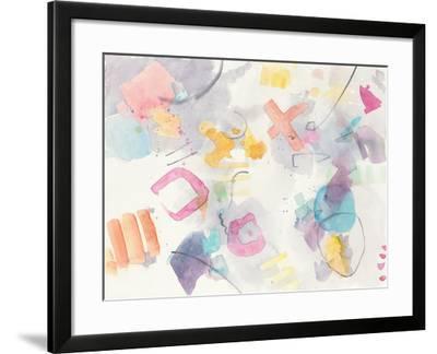 Stardust II-Mike Schick-Framed Art Print