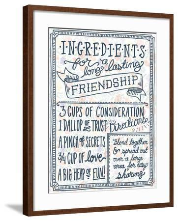 Ingredients For Life Ditzy Floral IV-Mary Urban-Framed Art Print