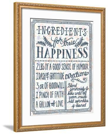 Ingredients For Life Ditzy Floral II-Mary Urban-Framed Art Print