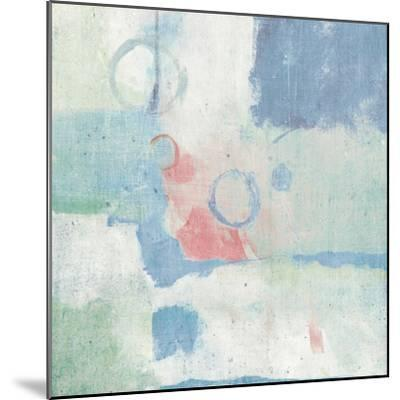 Horizon Cool Chromatic-Mike Schick-Mounted Art Print