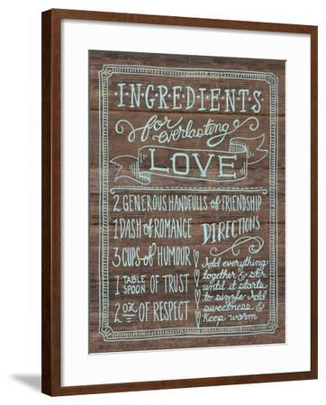 Ingredients For Life III-Mary Urban-Framed Art Print