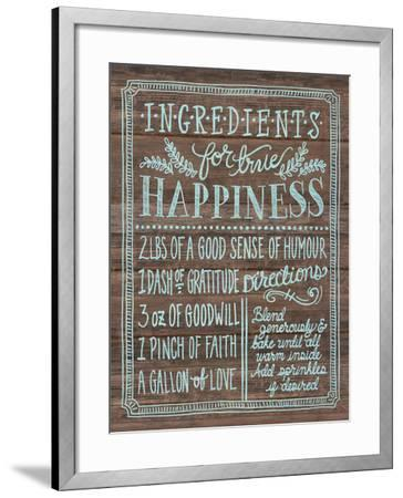 Ingredients For Life II-Mary Urban-Framed Art Print