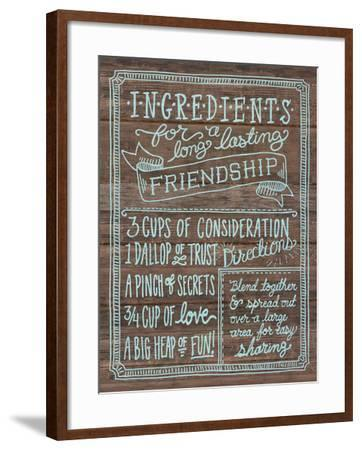 Ingredients For Life IV-Mary Urban-Framed Art Print
