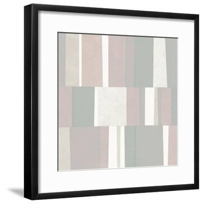 Pastel Abstract-Michael Mullan-Framed Art Print