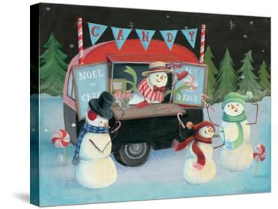Christmas on Wheels I-Mary Urban-Stretched Canvas Print