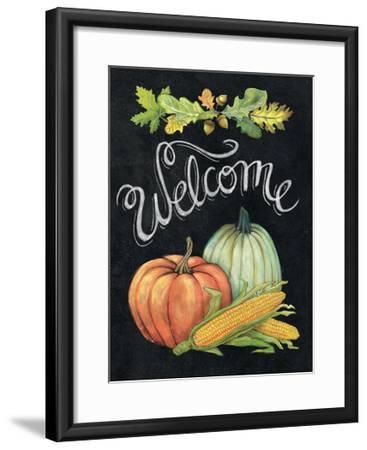 Autumn Harvest II Welcome-Mary Urban-Framed Art Print