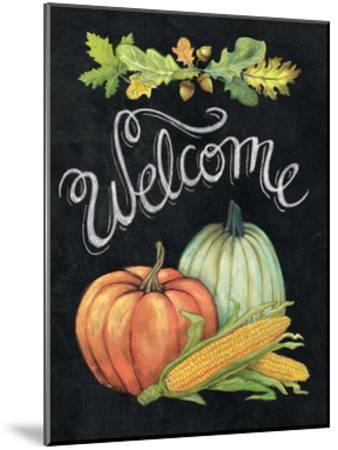 Autumn Harvest II Welcome-Mary Urban-Mounted Art Print
