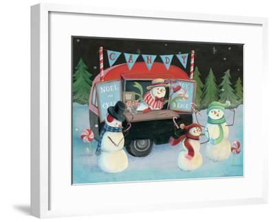 Christmas on Wheels I-Mary Urban-Framed Art Print