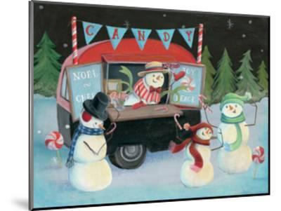 Christmas on Wheels I-Mary Urban-Mounted Art Print