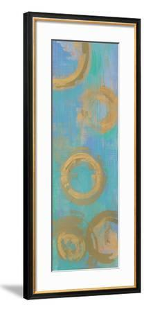 Golden Circles-Melissa Averinos-Framed Art Print