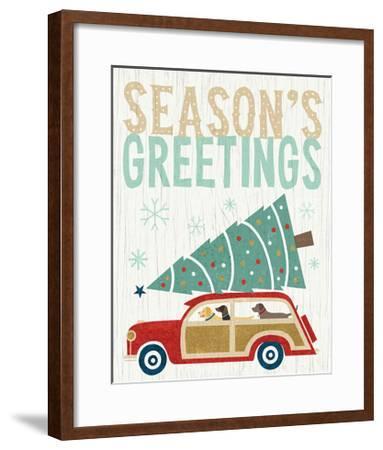 Holiday on Wheels II v2-Michael Mullan-Framed Art Print