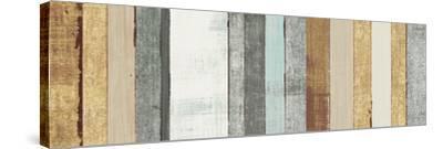Beachscape VII Gold Neutral-Michael Mullan-Stretched Canvas Print