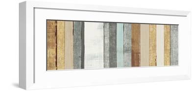 Beachscape VII Gold Neutral-Michael Mullan-Framed Art Print
