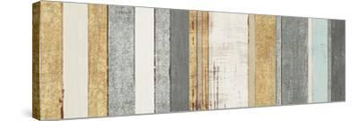Beachscape VIII Gold Neutral-Michael Mullan-Stretched Canvas Print