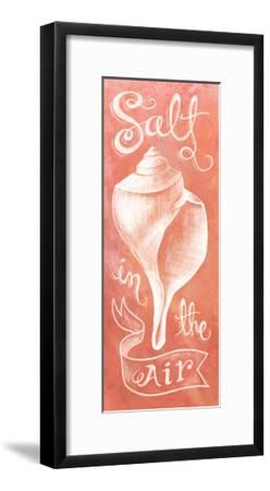Seashell Coral-Mary Urban-Framed Art Print