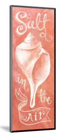 Seashell Coral-Mary Urban-Mounted Art Print