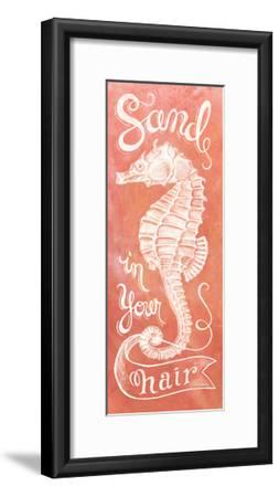 Sea Horse Coral-Mary Urban-Framed Art Print