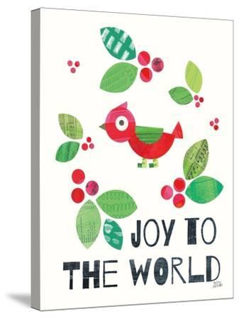 Mod Christmas IV-Melissa Averinos-Stretched Canvas Print
