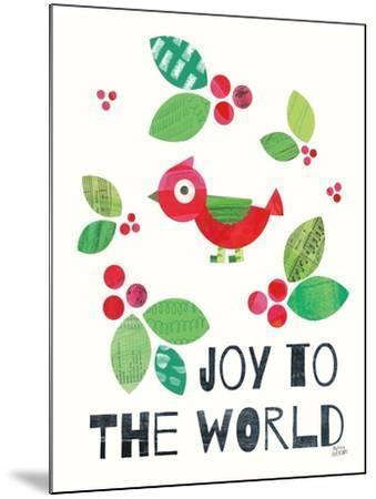 Mod Christmas IV-Melissa Averinos-Mounted Art Print