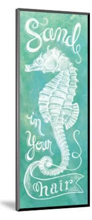 Sea Horse-Mary Urban-Mounted Art Print