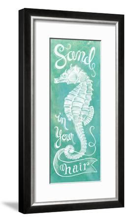 Sea Horse-Mary Urban-Framed Art Print