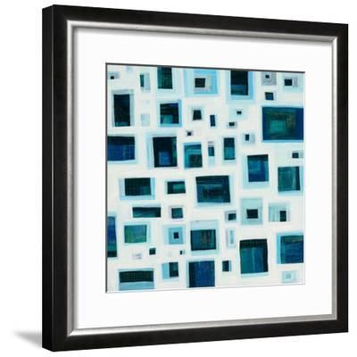 Harbor Windows IV-Melissa Averinos-Framed Art Print