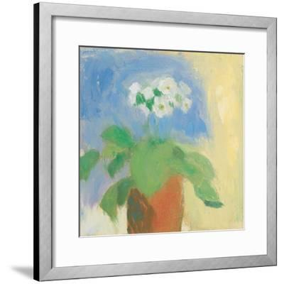 Cream Primula-Michael Clark-Framed Art Print