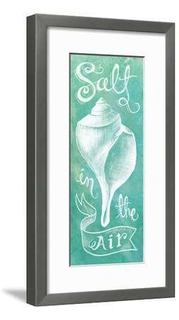 Seashell-Mary Urban-Framed Art Print