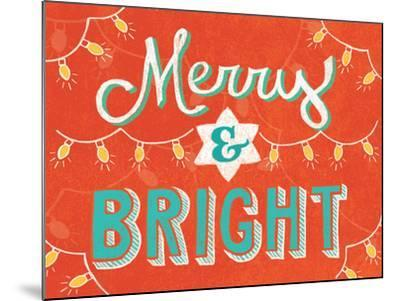 Merry and Bright-Mary Urban-Mounted Art Print