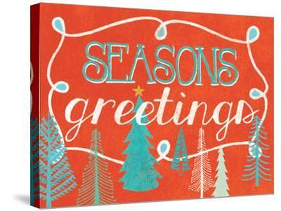 Seasons Greetings-Mary Urban-Stretched Canvas Print