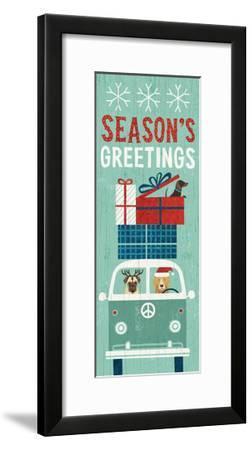Holiday on Wheels XII Panel-Michael Mullan-Framed Art Print