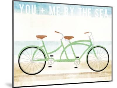 Beach Cruiser Tandem v2-Michael Mullan-Mounted Art Print