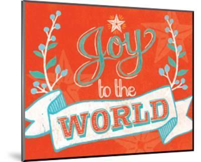 Joy to the World-Mary Urban-Mounted Art Print