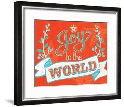 Joy to the World-Mary Urban-Framed Art Print