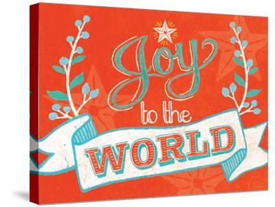 Joy to the World-Mary Urban-Stretched Canvas Print