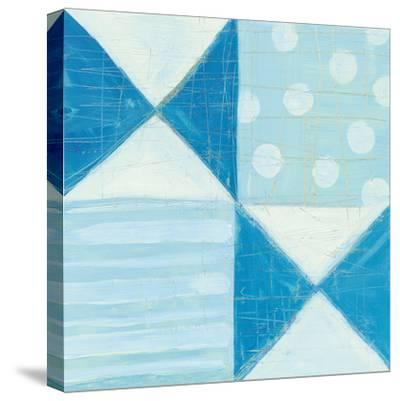 Modern Americana V Blue-Melissa Averinos-Stretched Canvas Print