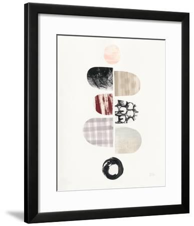 Mod Neutrals I Blush-Melissa Averinos-Framed Art Print