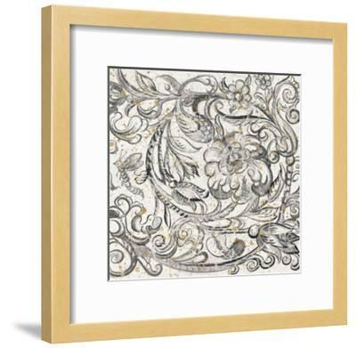 Tudor Rose Gold-Meloushka Designs-Framed Art Print