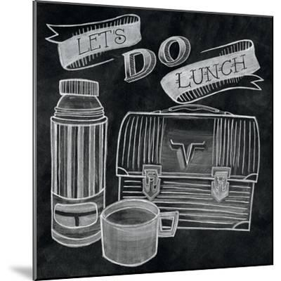Let's Do Lunch Chalk-Mary Urban-Mounted Art Print