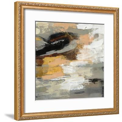 Neutral Abstract III-Silvia Vassileva-Framed Art Print