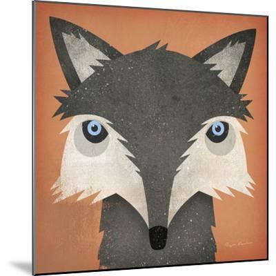 Timber Wolf-Ryan Fowler-Mounted Art Print