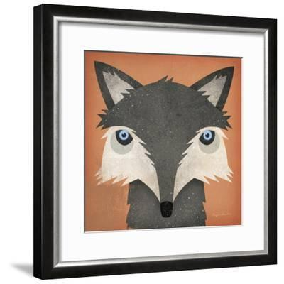 Timber Wolf-Ryan Fowler-Framed Art Print