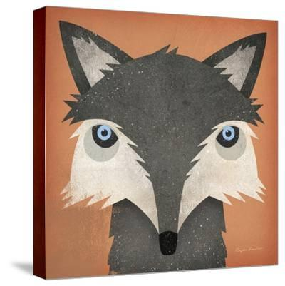 Timber Wolf-Ryan Fowler-Stretched Canvas Print