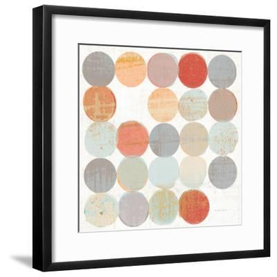Dots II Square I-Michael Mullan-Framed Art Print