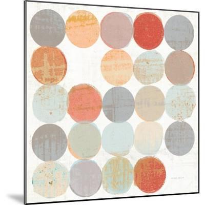 Dots II Square I-Michael Mullan-Mounted Art Print