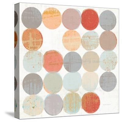 Dots II Square I-Michael Mullan-Stretched Canvas Print