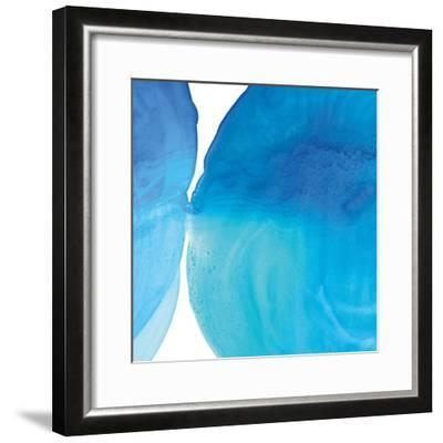 Pools of Turquoise I-Piper Rhue-Framed Art Print