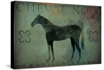 Cheval Noir v1-Ryan Fowler-Stretched Canvas Print