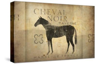 Cheval Noir v4-Ryan Fowler-Stretched Canvas Print